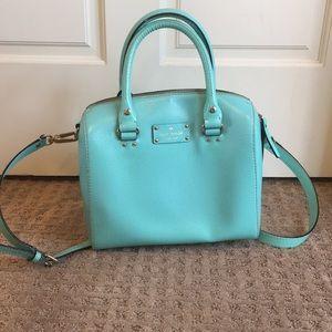 Kate Spade Medium Sized Tiffany Blue Purse